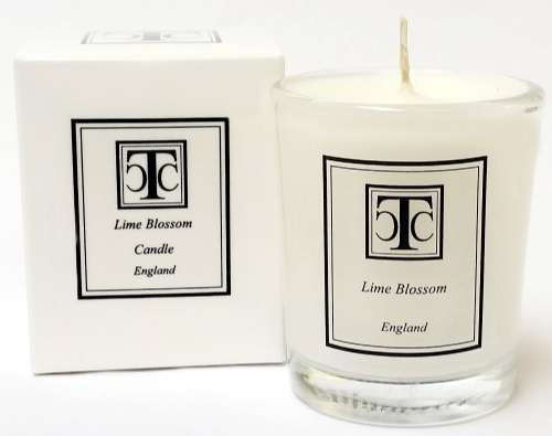 Lime Blossom Scented Candle 10 hour plus